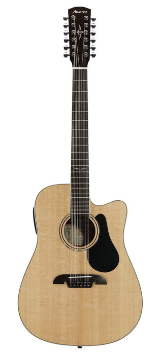 Alvarez AD-60-12CE 12 String Acoustic/Electric Dreadnought Steel String Guitar