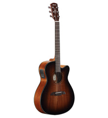 Alvarez AF-66CESHB Cutaway OM/Folk Size Steel String Acoustic/Electric Guitar Shadowburst