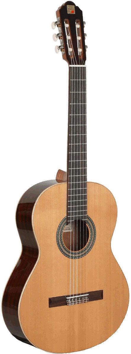 Alhambra Model 2C Classical Guitar Nylon String Made In Spain Mahogany Rosewood