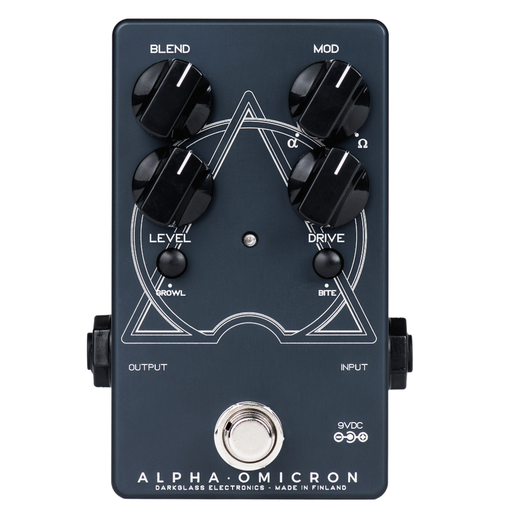 Darkglass Electronics AOM Alpha Omicron Distortion Effect Pedal