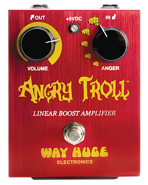Way Huge WHE101 Angry Troll Overdrive Pedal