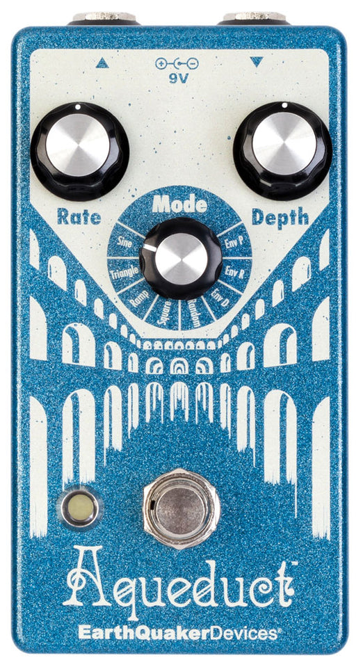 Earthquaker Devices Aqueduct Tremolo Guitar Effect Pedal