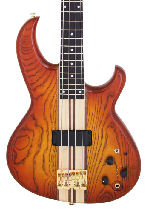 Aria Pro II SB-1000B Reissue 4-String Electric Bass Guitar Made in Japan Amber Limited Edition W/ Bag