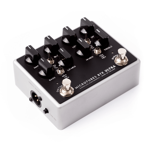 Darkglass Electronics Microtubes B7K Ultra V2 Bass Preamp Overdrive Effect Pedal with Aux-In