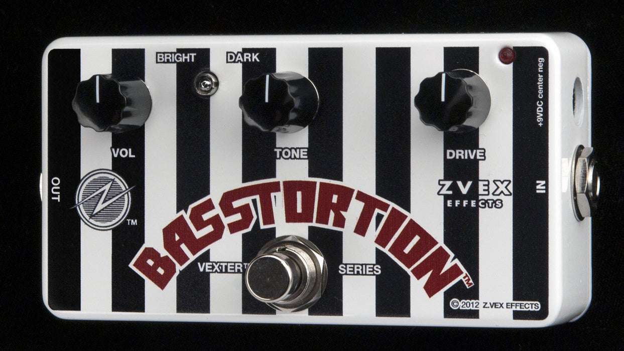 Zvex Vexter Series Basstortion Bass Distortion Pedal