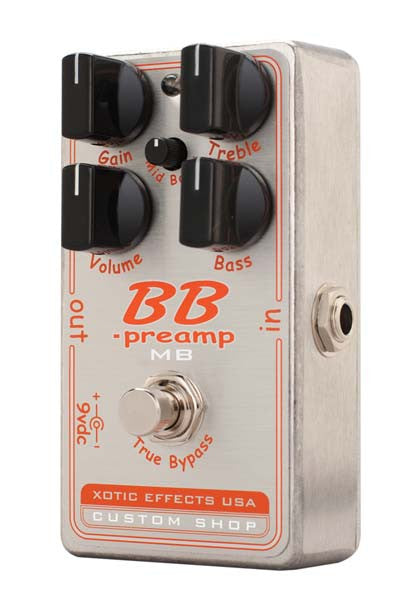 Xotic Effects BBP-Preamp MB Preamp Overdrive Guitar Pedal