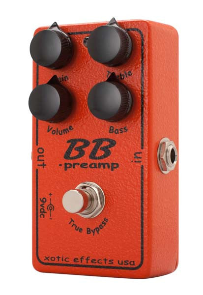 Xotic Effects BB Preamp Overdrive Guitar Pedal