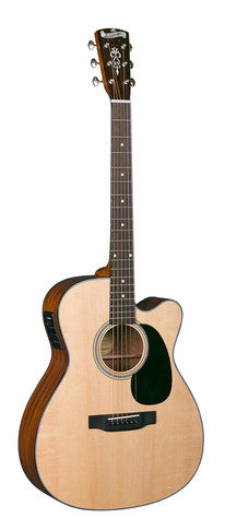 Blueridge BR-43CE Contemporary Series 000 Acoustic Guitar  Natural