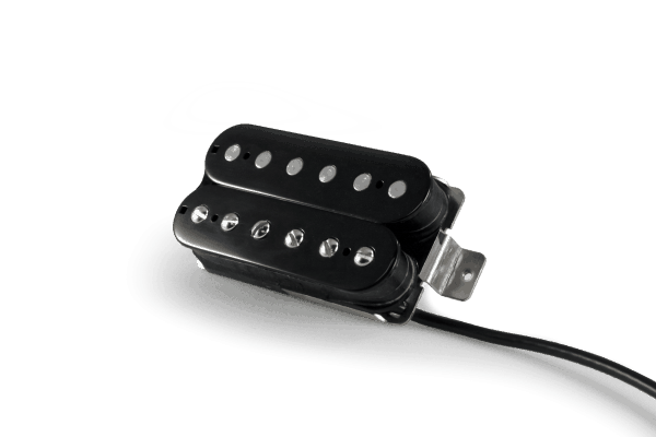 Lindy Fralin Unbucker Humbucker 3 Conductor Lead Pickup Set - Raw Nickel