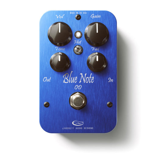 J Rockett Audio Designs Pro Series Blue Note Overdrive Guitar Effect Pedal
