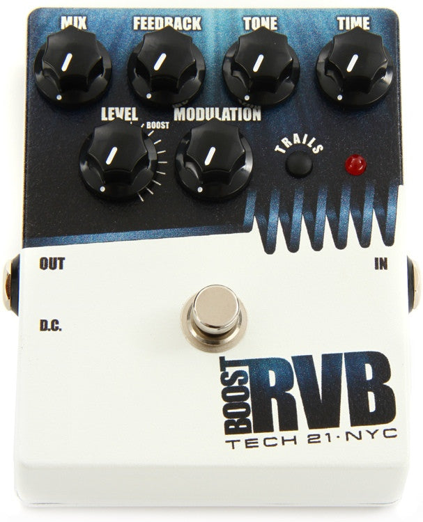 Tech 21 Boost RVB Reverb Pedal