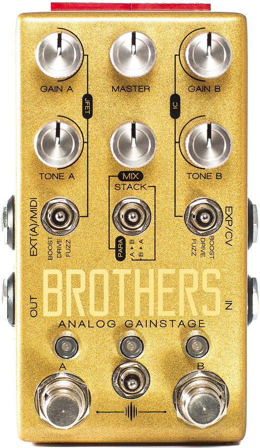 Chase Bliss Audio Brothers Analog Gainstage Guitar Effect Pedal WOOD BOX!!!!
