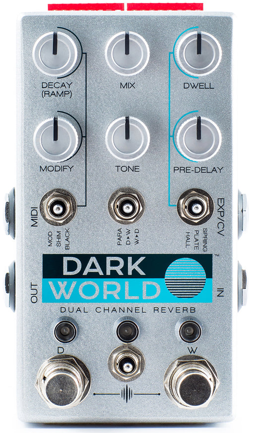 Chase Bliss Audio Dark World Dual Channel Reverb Guitar Effect Pedal