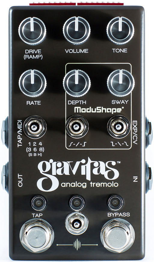 Chase Bliss Audio Gravitas Analog Tremolo Guitar Effect Pedal
