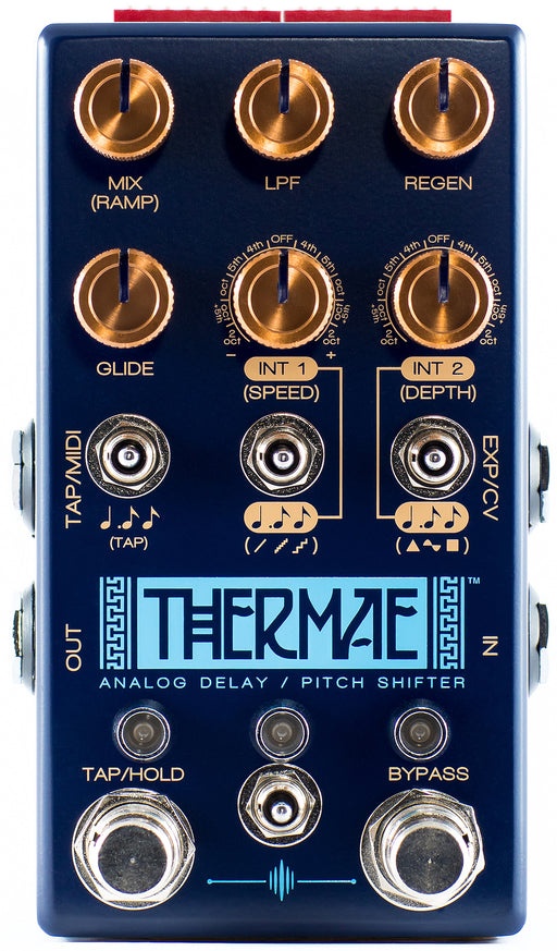 Chase Bliss Audio Thermae Analog Delay  Pitch Shifter Guitar Effect Pedal