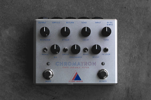 3Leaf Audio Chromatron State Variable Filter Guitar Effect Pedal