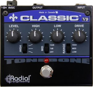 Radial Engineering Classic V9 Distortion Guitar Effect Pedal