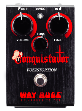 Way Huge WHE406 Conquistador Fuzzstortion Gated Fuzz Guitar Effect Pedal