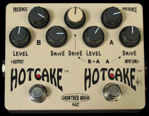 Crowther Audio Double Hot Cake Overdrive Pedal