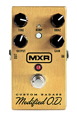 MXR Custom Badass Modified O.D. M77 Overdrive Guitar Pedal
