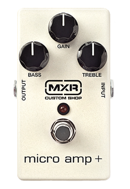 MXR CSP233 Custom Shop Micro Amp Plus Guitar Pedal