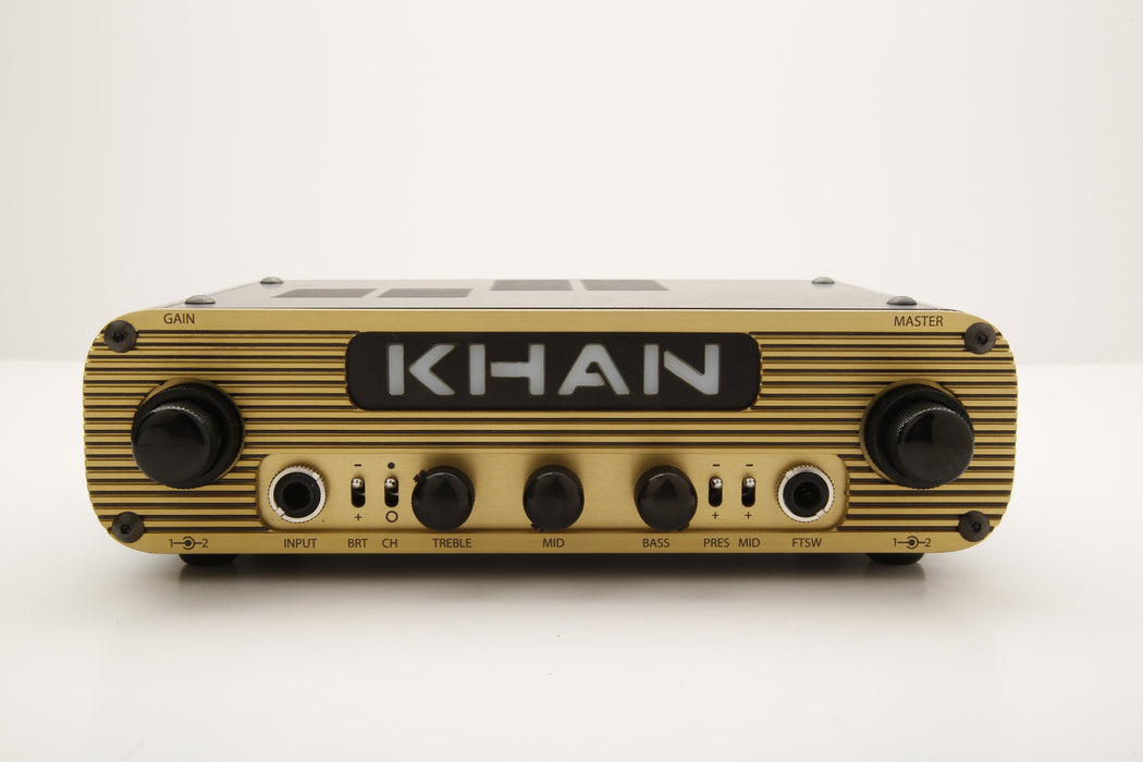 Khan Audio Khan 2 Pak Two Channel Tube Guitar Amplifier Head