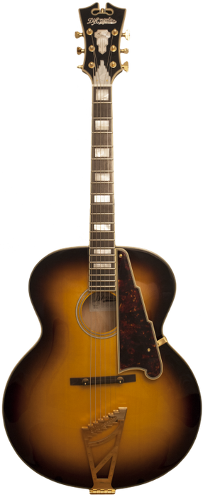 D'Angelico EX-63 Sunburst Acoustic Guitar