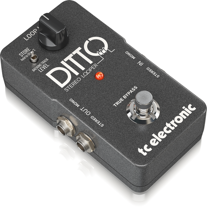 tc electronics ditto stereo looper guitar pedal. Black Bedroom Furniture Sets. Home Design Ideas