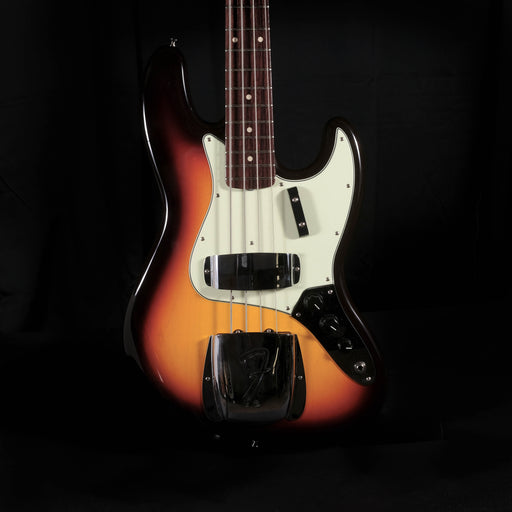 Fender Custom Shop 1964 Jazz Bass NOS Rosewood Neck Chocolate 3-Tone Sunburst With Case