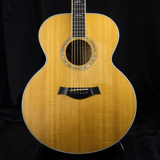 Pre Owned '92 Taylor 615E Quilt Maple Back/Sides Sitka Top Jumbo Acoustic Electric Guitar w/ OHSC