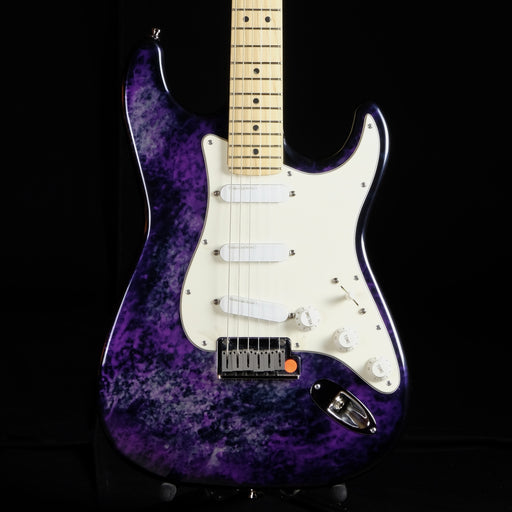 Pre Owned '93 Fender 40th Anniversary Limited Run Stratocaster Aluminum Purple Body OHSC