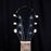 Vintage 1950's Kay K-136 Black Refinished Electric Guitar