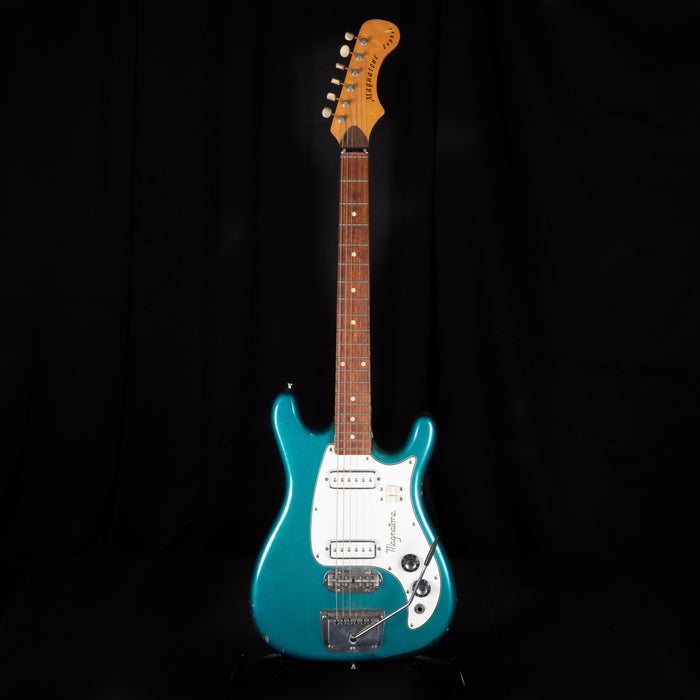 Used 1960 Magnatone Zephyr Electric Guitar Owned/Played by Billie Joe Armstrong of Green Day