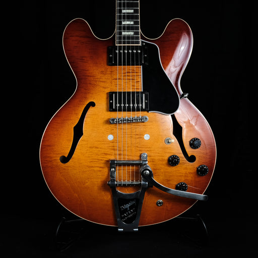 Used 2015 Gibson ES-335 Figured Cherryburst Added Bigsby and OHSC