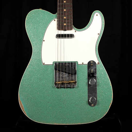Fender Custom Shop NAMM '19 Limited Edition Telecaster Custom Relic Aged Seafoam Sparkle