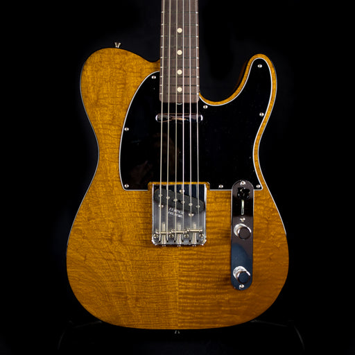 Fender Custom Shop Exclusive NOS 1960 Telecaster Custom Flame Mahogany Electric Guitar With Case