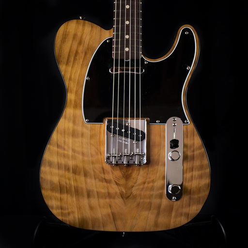 Fender Custom Shop Exclusive NOS 1960 Telecaster Custom Burl Redwood Electric Guitar With Case