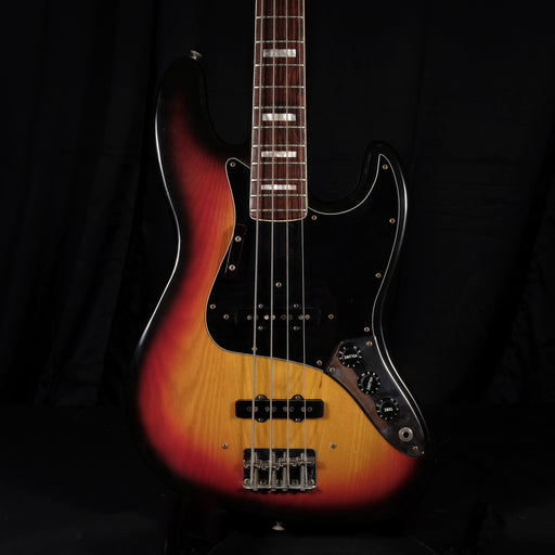 Vintage 1978 Fender Jazz Bass Block Inlay Rosewood Fingerboard Sunburst OHSC