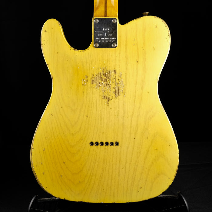 Fender Custom Shop Masterbuilt Kyle McMillin Limited Edition 70th Anniversary Broadcaster Relic Faded Nocaster Blonde