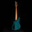 Used Reverend Mercalli 5FM 5 String Electric Bass Guitar Turquoise Flame Maple