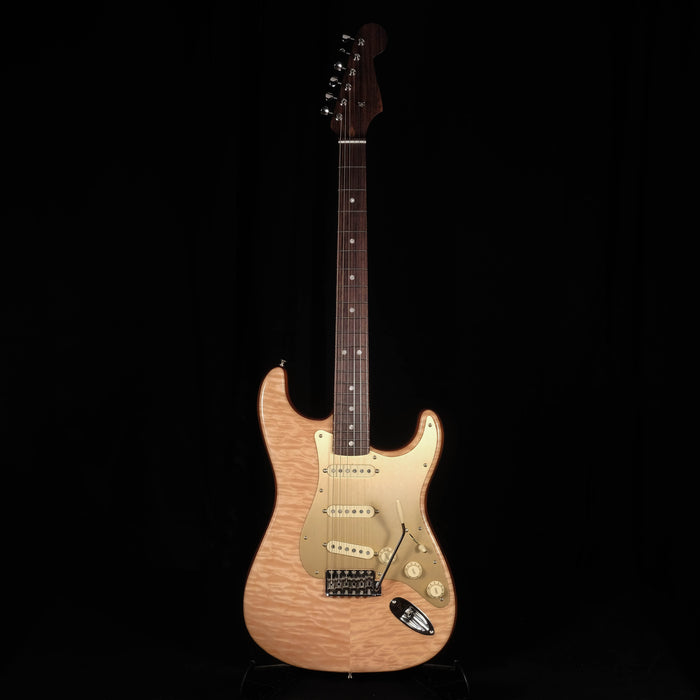 Fender Rarities Quilt Maple Top Stratocaster Rosewood Neck Natural