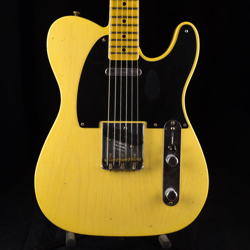 Fender Custom Shop Limited Edition 70th Anniversary 1950 Broadcaster Journeyman Relic Nocaster Blonde Electric Guitar With Case