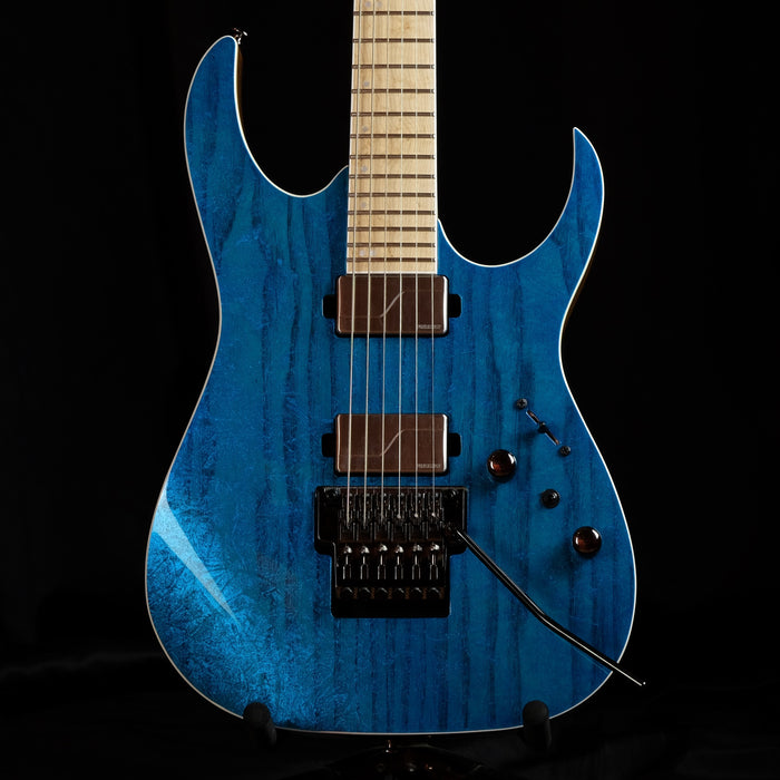 Used Ibanez Prestige RG5120M-FCN Frozen Ocean Electric Guitar With OHSC