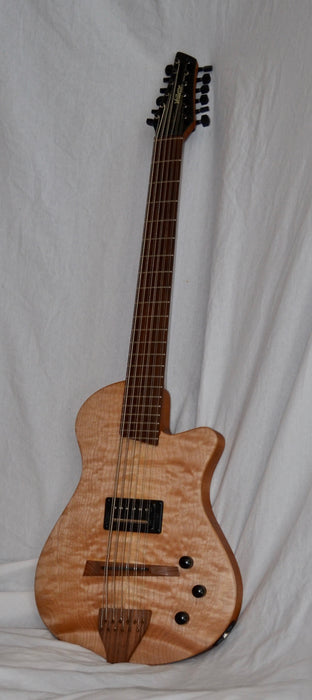 Veillette Journeyman Baritone Electric 12 String Guitar Solid Body
