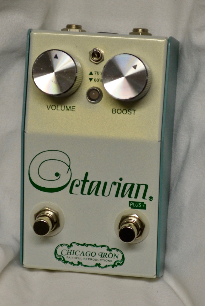 Chicago Iron Tycobrahe Octavian Plus Pedal