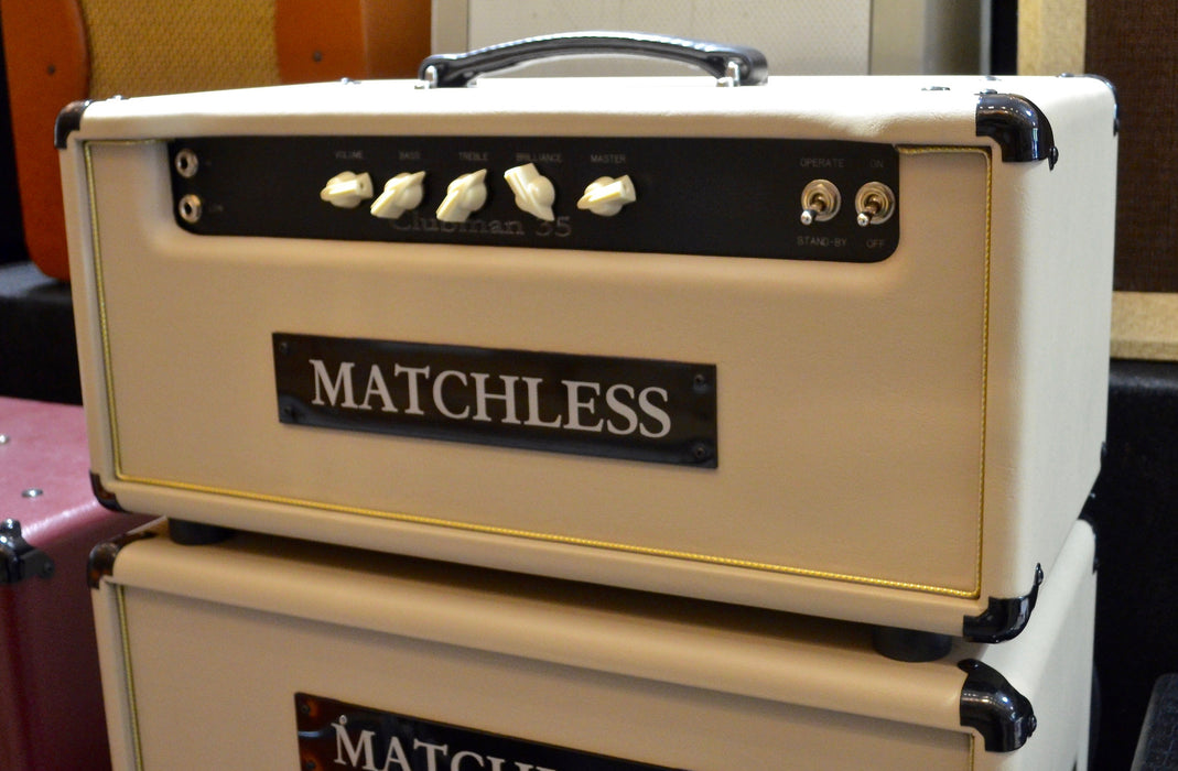 Matchless Clubman 35 Watt EL34 Tube Guitar Amp Head Tan