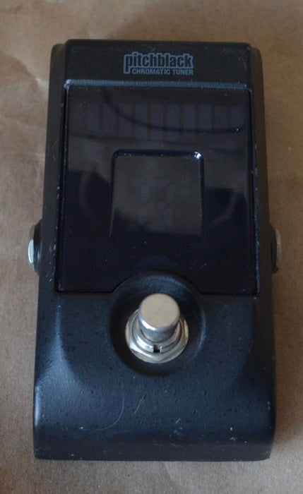 Used Korg Pitch-black Guitar Tuner Pedal