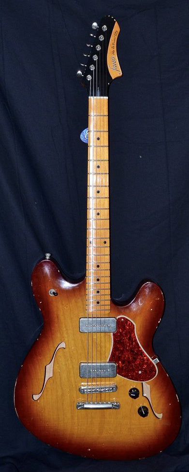 Fano Alt De Facto GF6 Tobacco Sunburst Medium Distress W/ OHSC