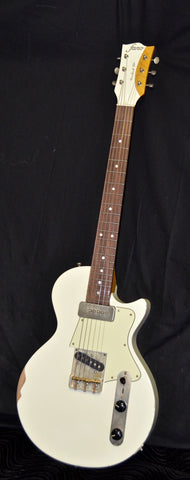 Fano SP6 Standard Olympic White T90 With Gig Bag Medium Distress