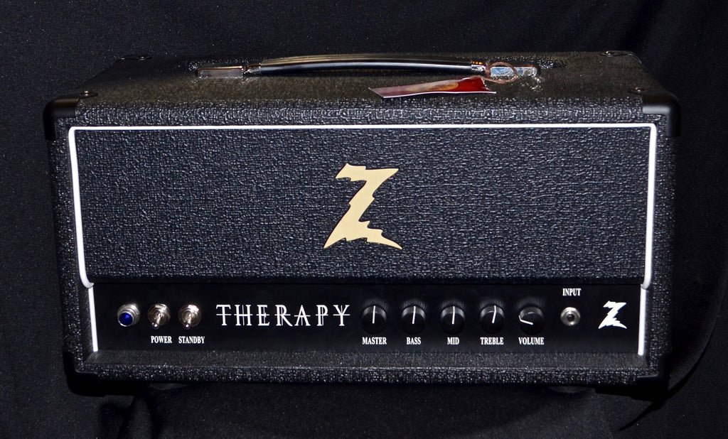 Dr Z Therapy 35 Watt 6L6 Tube Head Black